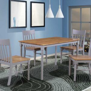 Perth table and 4 chairs